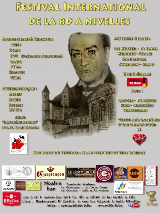 5ème festival de la BD - Nivelles