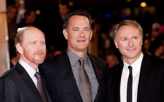Ron Howard, Tom Hanks & Dan Brown