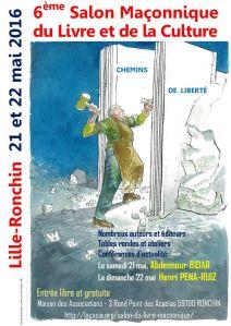 6ème salon du livre maçonnique de Lille-Ronchin