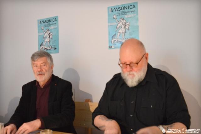 Jean Rebuffat et Jiri Pragman nous présentent dans les grandes lignes l'édition 2017 de Masonica